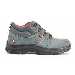Vysoké pracovní boty 72220 BELLOTA S1P - semišové, kovová špička