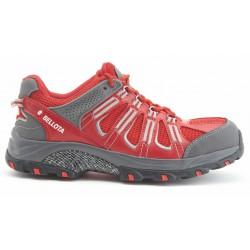 Nízké pracovní boty 72211R BELLOTA S1P Trail Red shoe, plastová špička