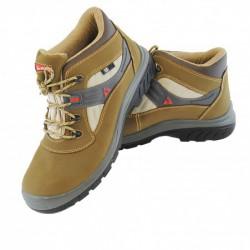 Pracovní boty 72208B BELLOTA Light beige S3 - kožené, plastová špice