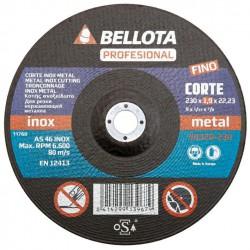 Řezací kotouč 230x22,2x1,9 BELLOTA 50320-230 (nerezová ocel/kov)