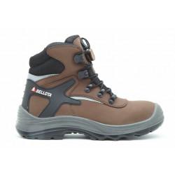 Pracovní boty 72213 BELLOTA Click vysoké S3 - kožené, plastová špice
