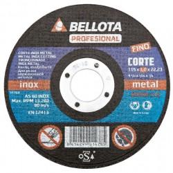 Řezací kotouč 125x22,2x1 BELLOTA 50300-125 (nerezová ocel/kov)